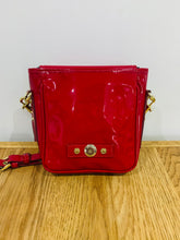 Load image into Gallery viewer, Mulberry Vintage Roxanne Pouch in Red Patent Vinyl