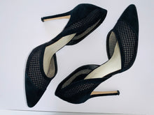 Load image into Gallery viewer, Karen Millen Black Mesh Stiletto UK5
