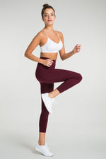 Jerf Gela Maroon Leggings