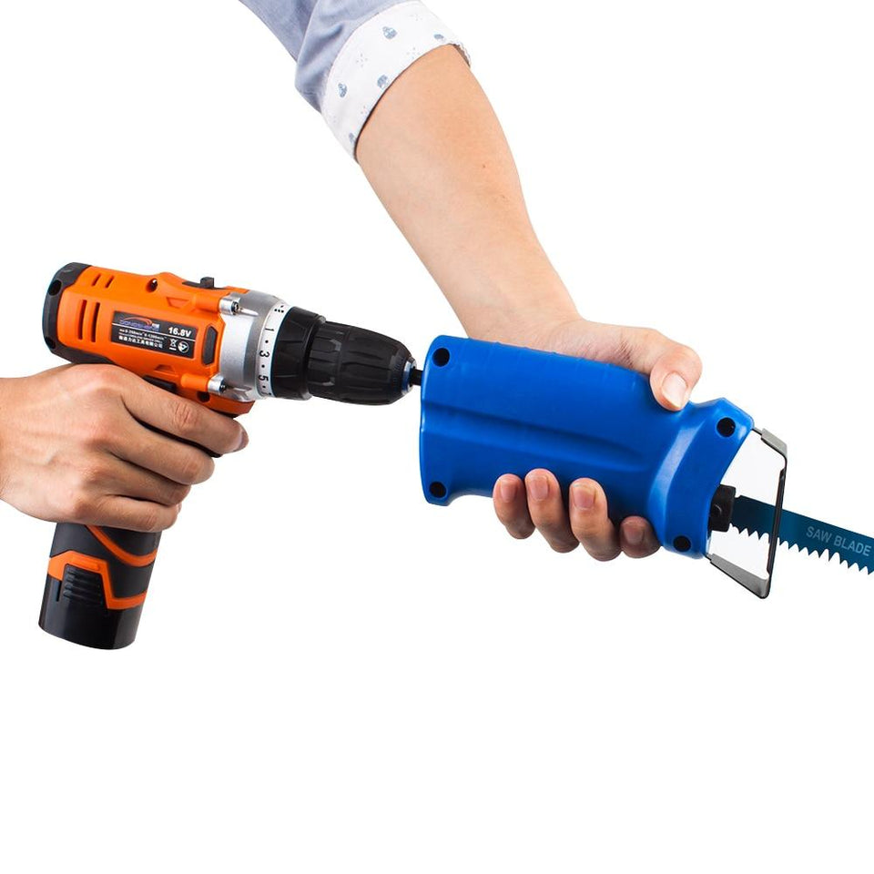 HEAVY DUTY ELECTRIC DRILL POWER SAW CONVERTER - 40% OFF TODAY