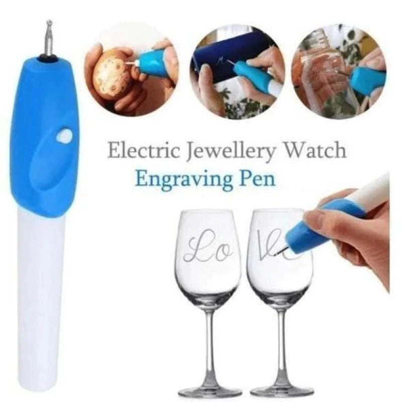 Cordless Engraving Ballpoint by Moshe - BUY 1 TAKE 1 TODAY