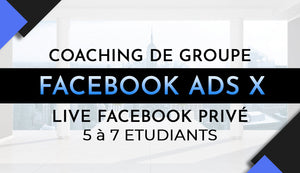 Coaching de groupe Facebook Ads