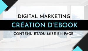 Création d'ebook pro - Digital marketing