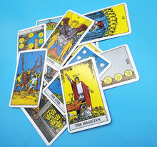 Load image into Gallery viewer, Original Rider Waite Tarot - the ultimate 78 card Tarot deck for beginners