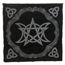 Load image into Gallery viewer, Photo of Moon and Stars - Celtic tablecloth