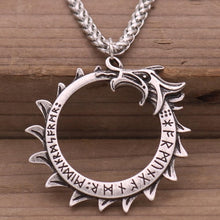Load image into Gallery viewer, Elder Futhark Nordic Rune Necklaces -  Viking talisman amulets - MANY STYLES