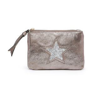 Medium Star Purse | Stone