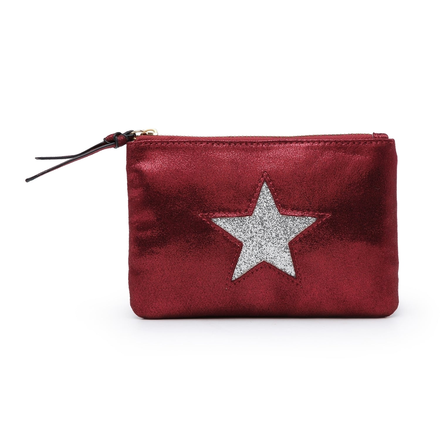 Medium Star Purse | Burgundy