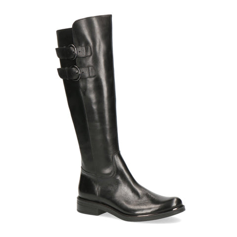 Caprice Long Leather Boot 25530 | Black