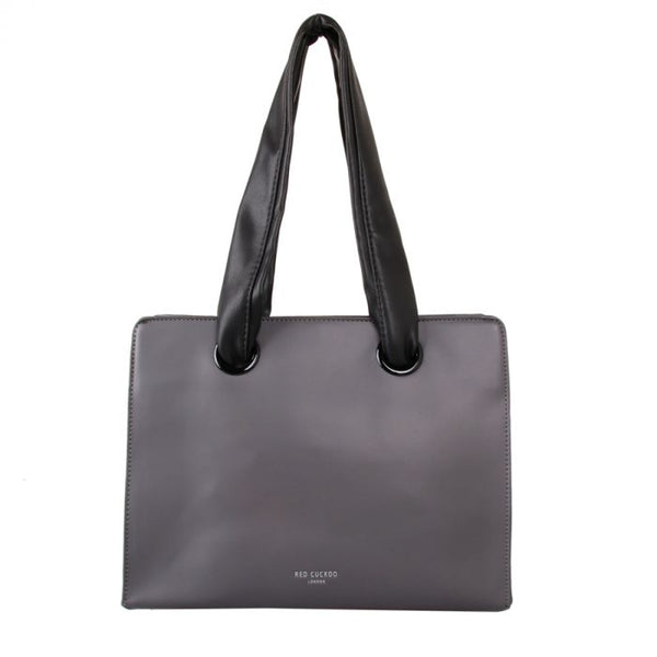 Soft Handle Tote Bag | Grey