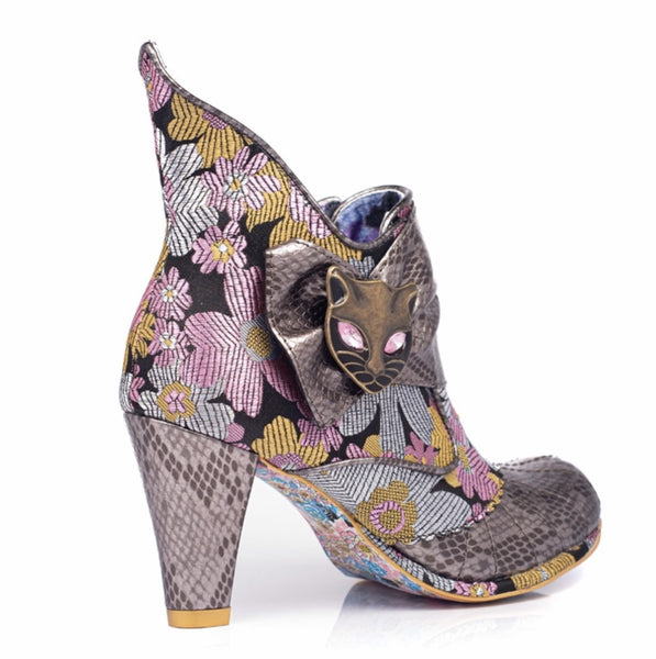 Irregular Choice | Miaow | Silver
