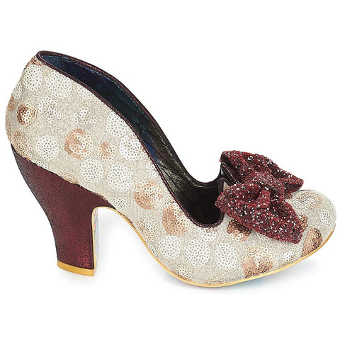 Irregular Choice | Nick of Time | Red Multi