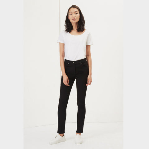 Black Reform High Waisted Jeans | J40ZA