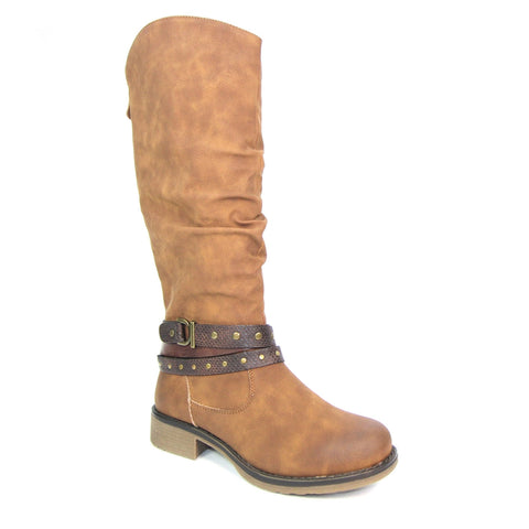Algeria Long Boot | Tan