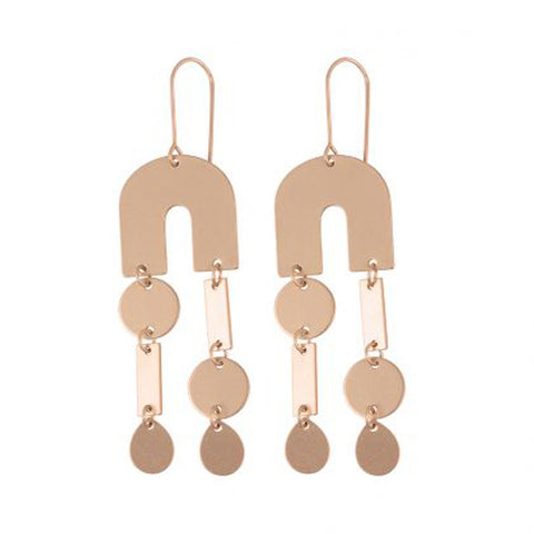 Lucile Geometrical Abstract Earrings