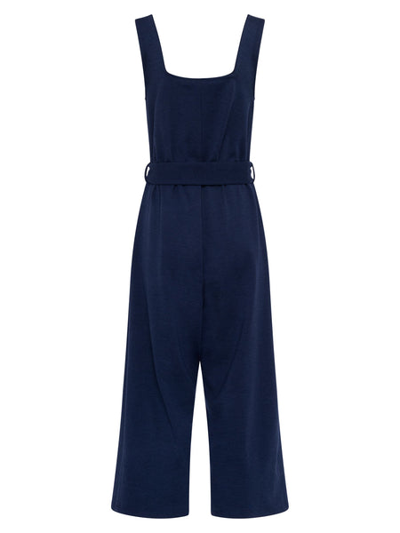 Haley Jersey Sleeveless Jumpsuit | Classic Navy