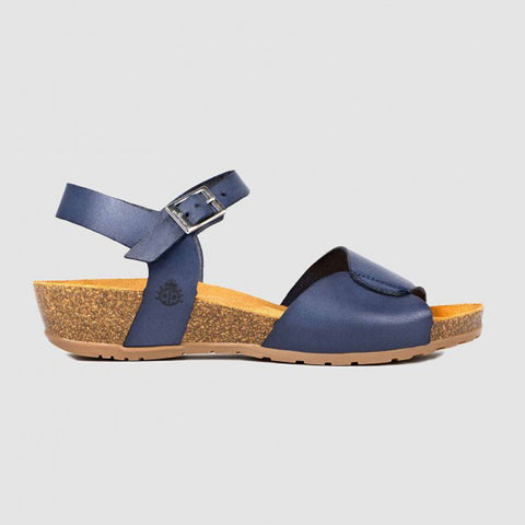 Capri 066 Wedge Sandal | Navy