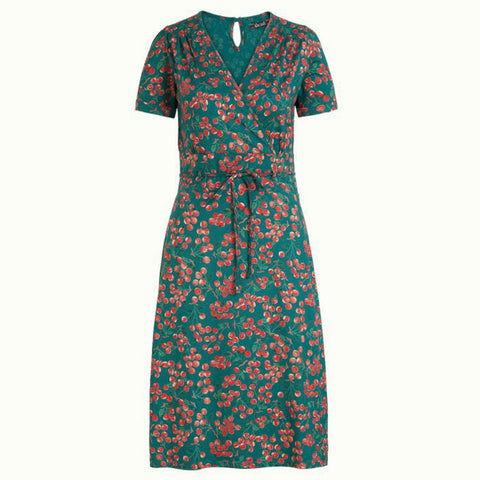 Cecil Dress Touche | Para Green