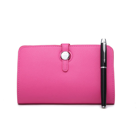 Long Purse/Clutch | Fuchsia
