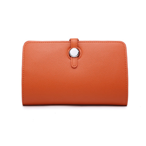 Long Purse/Clutch | Orange