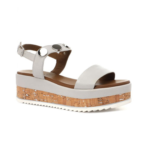 Platform Wedge Sandal | 126002 | Ice