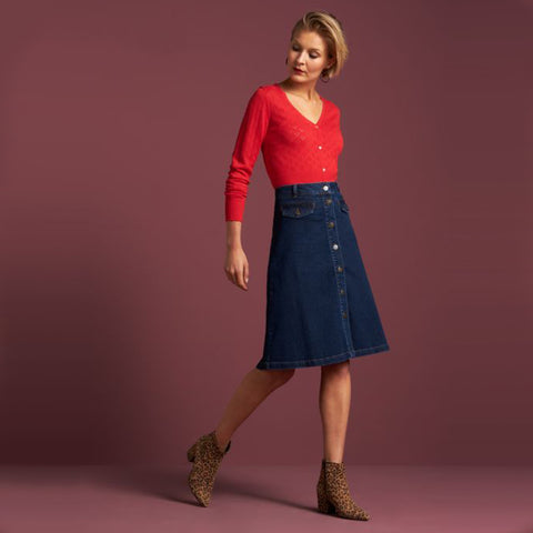 Carroll Skirt Denim