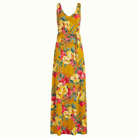 Anna Dress Maxi Lavish | Spice Yellow