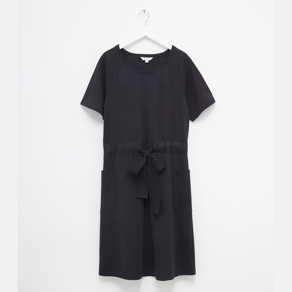 Pia Ponte Dress | J1NBO | Black