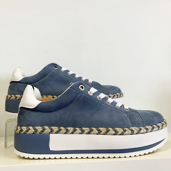 Flatform Trainer | Denim Blue