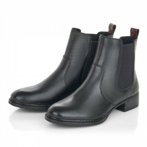 Leather Chelsea Boot | 73494-01 | Black