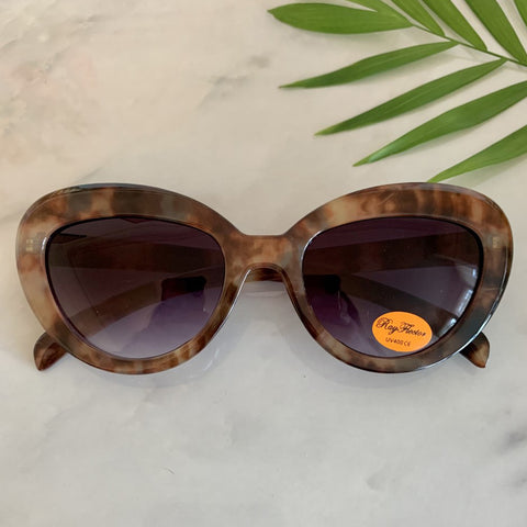 Vintage Inspired Cat Eye Sunglasses | Multi