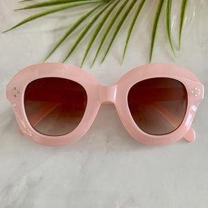Retro Oversize Sunglasses | Pink