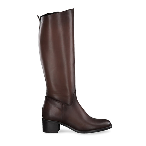 Long Boot | 25569 | Coffee