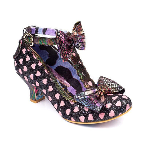 Irregular Choice | Total Freedom | Black/Pink