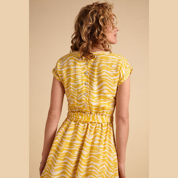 Vera Loose Fit Dress Chapman | Mimosa Yellow