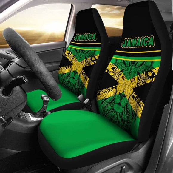 Africa Zone Car Seat Covers - Jamaica Lion King - Life Style 161012 - YourCarButBetter