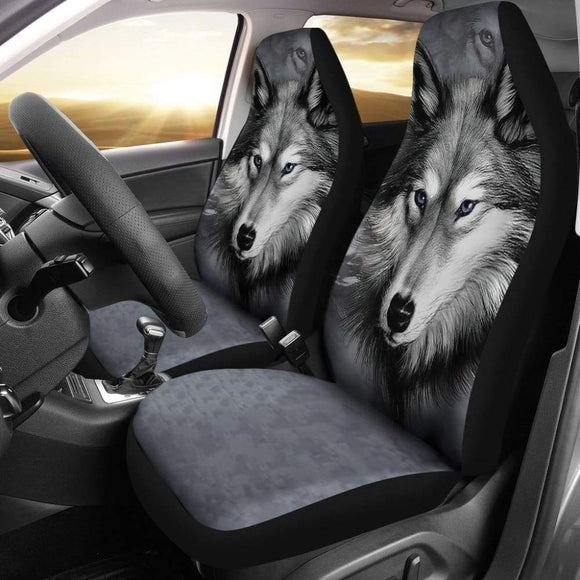 Amazing Wolf Pack Gift Idea Car Seat Covers 212002 - YourCarButBetter