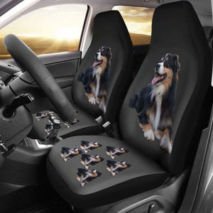 Australian Shepherd Black Car Seat Cover 091706 - YourCarButBetter