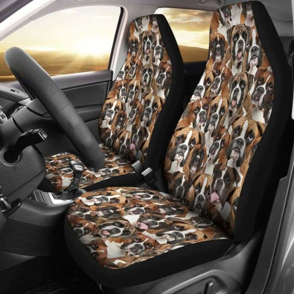 Boxer Full Face Car Seat Covers 102918 - YourCarButBetter