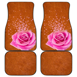 Butterfly Rose Car Floor Mats 210902 - YourCarButBetter