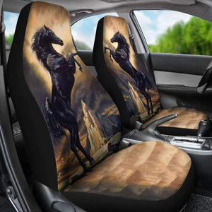 Car Seat Covers - Horse Lovers 02 231007 - YourCarButBetter