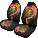 Celtic Car Seat Covers Welsh Magic Dragon - Green Edition 103709 - YourCarButBetter