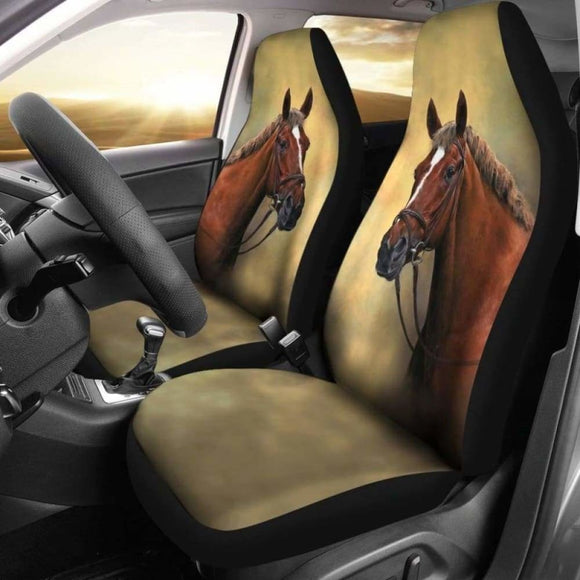 Classic Horse Car Seat Covers 170804 - YourCarButBetter
