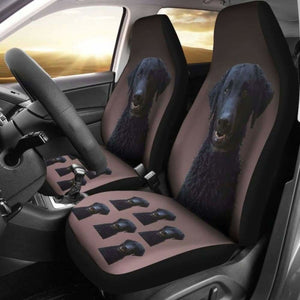 Curly Coat Retriever Car Seat Covers 115106 - YourCarButBetter