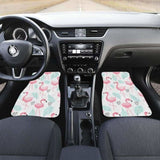Cute Flamingo Pattern Front And Back Car Mats 201010 - YourCarButBetter