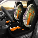 Cute Fox Car Seat Covers 200217 - YourCarButBetter
