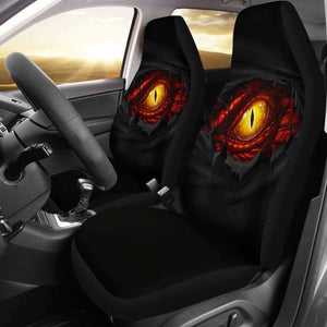 Dragon Eyes 3D Car Seat Covers - Amazing Best Gift Ideas 103709 - YourCarButBetter