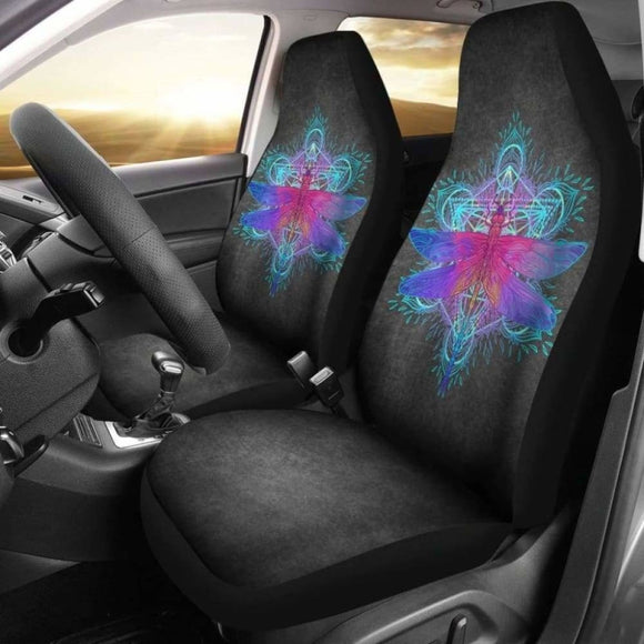 Dragonfly Mandala Car Seat Covers 135711 - YourCarButBetter