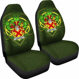 Eustace Ireland Car Seat Cover Celtic Shamrock (Set Of Two) 154230 - YourCarButBetter