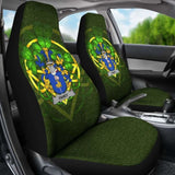 Fahey Or O'Fahy Ireland Car Seat Cover Celtic Shamrock (Set Of Two) 154230 - YourCarButBetter